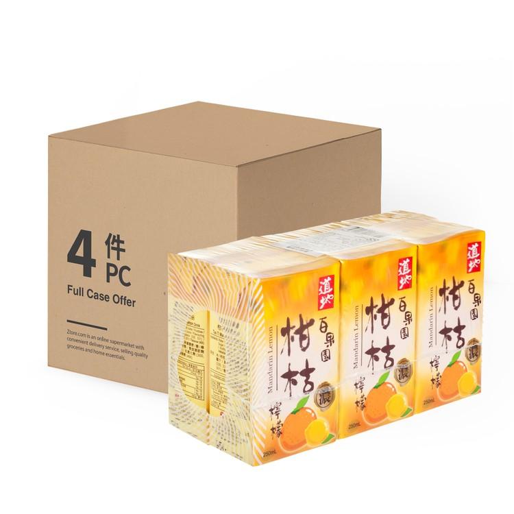 道地 - 柑桔檸檬-原箱 - 250MLX6X4