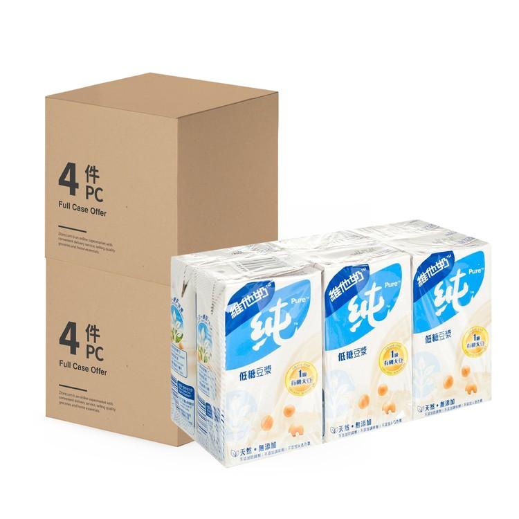 VITASOY 維他奶 - 低糖純豆漿-2箱 - 250MLX6X4X2