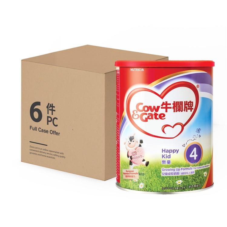 牛欄牌 - 樂童4-兒童成長奶粉4段-原箱 - 900GX6