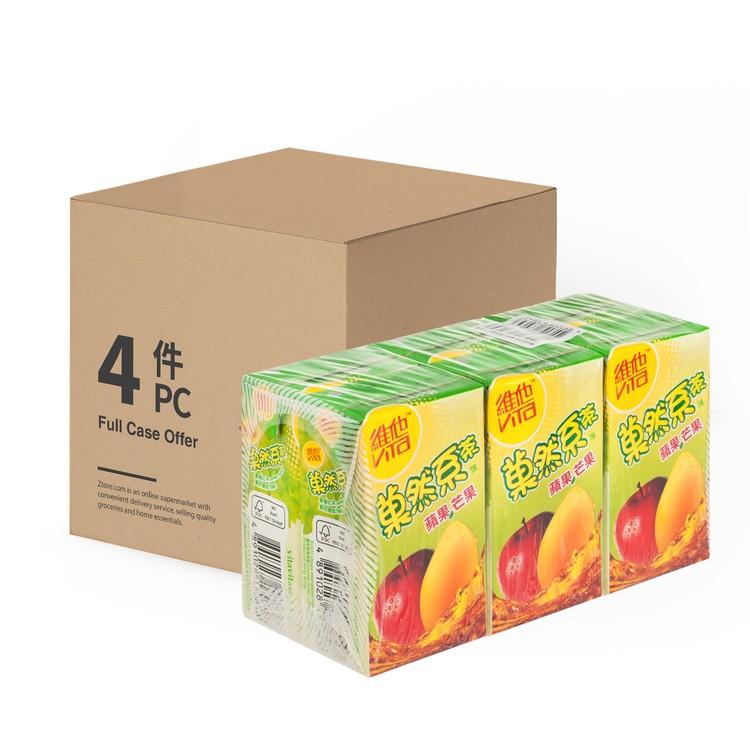 VITA 維他 - 菓然系蘋果芒果茶-原箱 - 250MLX6X4
