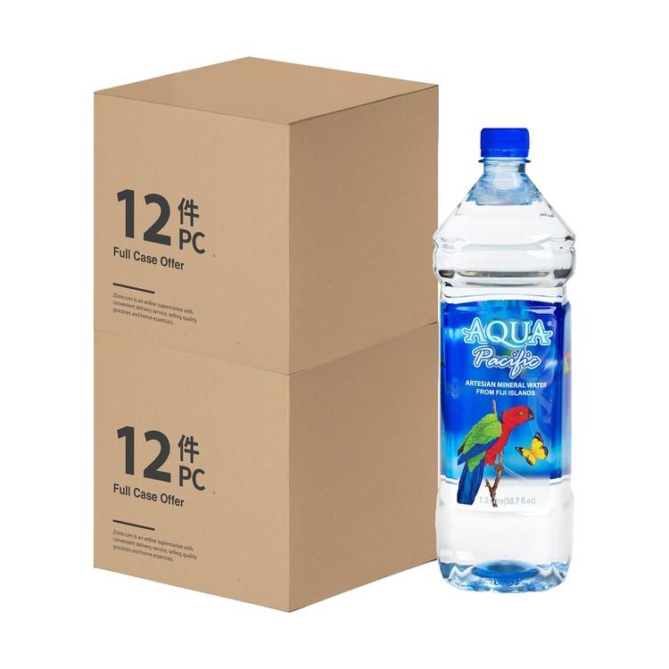 AQUA PACIFIC - NATURAL MINERAL WATER-2 CASE - 1.5LX12X2