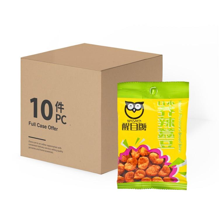 醒目牌 - 日本芥辣蠶豆-原盒 - 35GX10