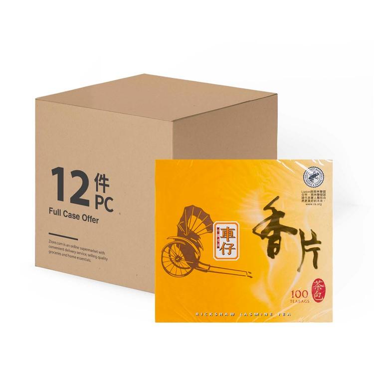 RICKSHAW - CHINESE TEABAGS-JASMINE - 100'SX12