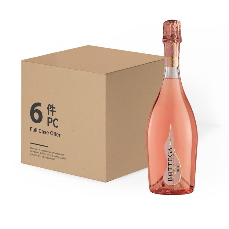 寶迪嘉 - 汽泡酒-玫瑰-原箱 - 750MLX6