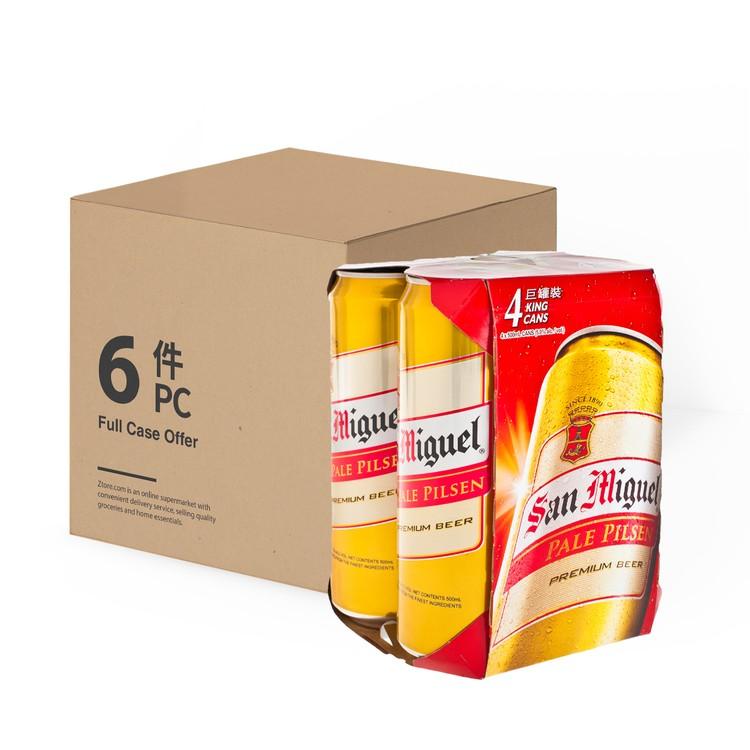 生力 - 啤酒 (巨罐裝)-原箱 - 500MLX4X6