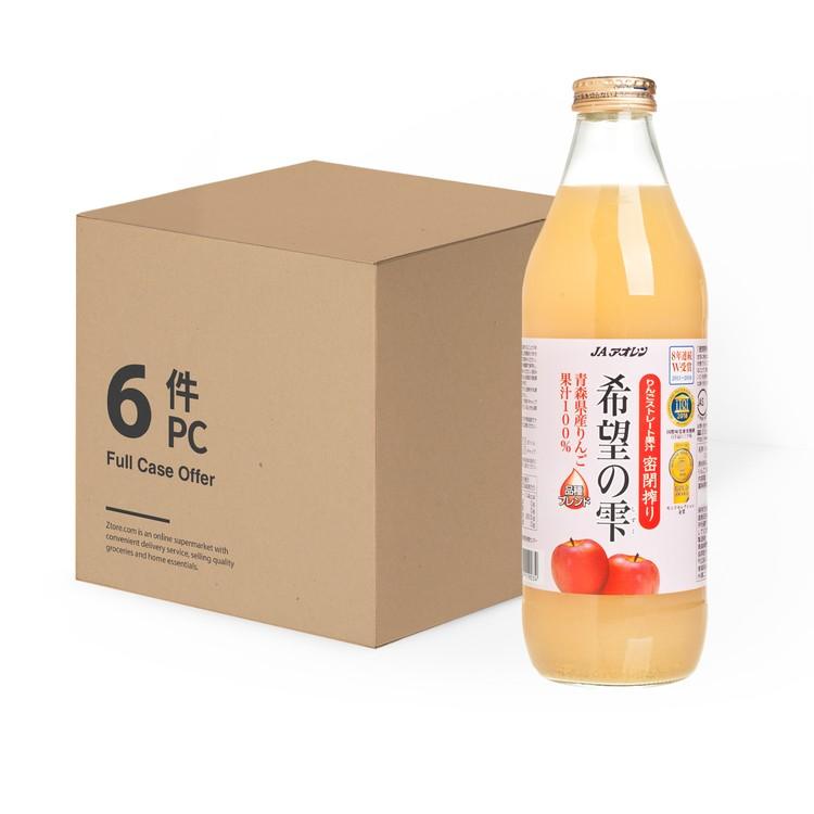 KIBOU NO SHIZUKU - 希望之雫青森蘋果汁-原箱 - 1LX6