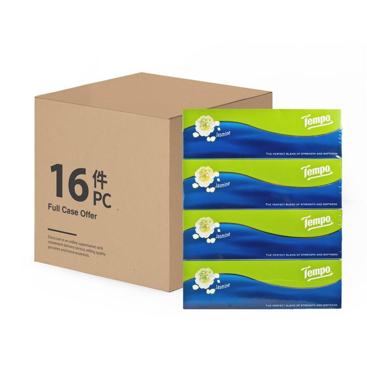 TEMPO - FACIAL BOX TISSUE-JASMINE(FULL CASE) - 4'SX16