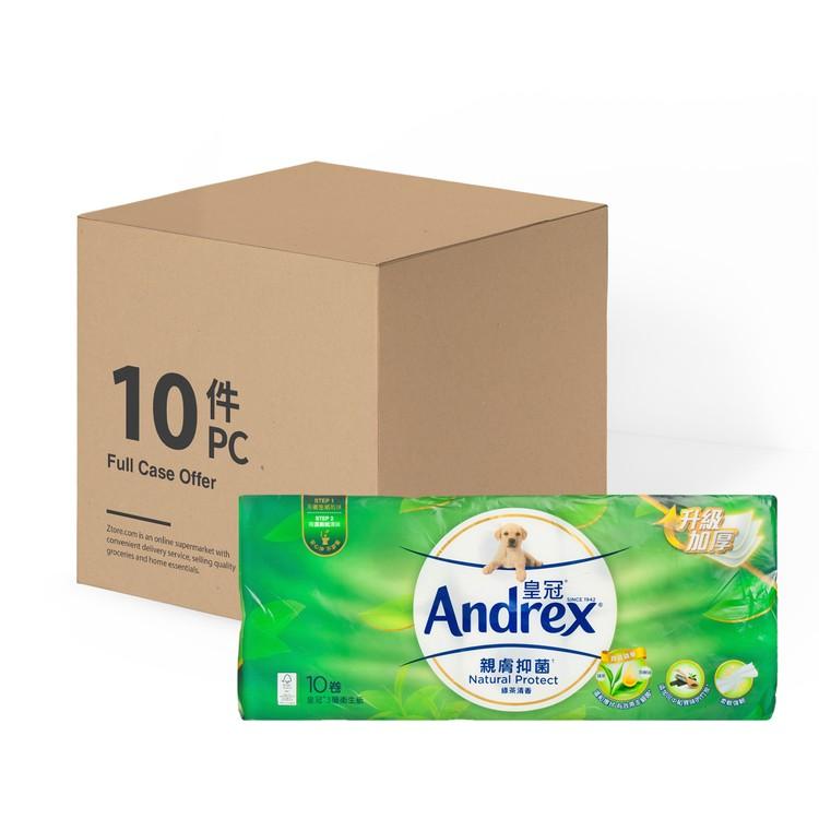 ANDREX - NATUARL PROT BATHROOM TISSUE 3 PLY - 10'SX10