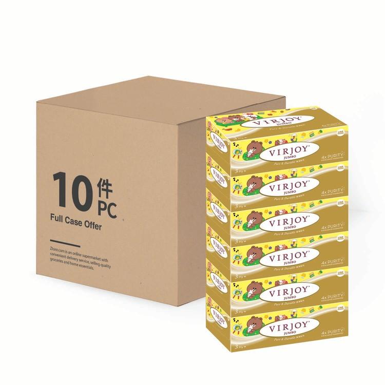 唯潔雅 - 珍寶系列-三層盒裝面紙(原箱)  - 6'SX10
