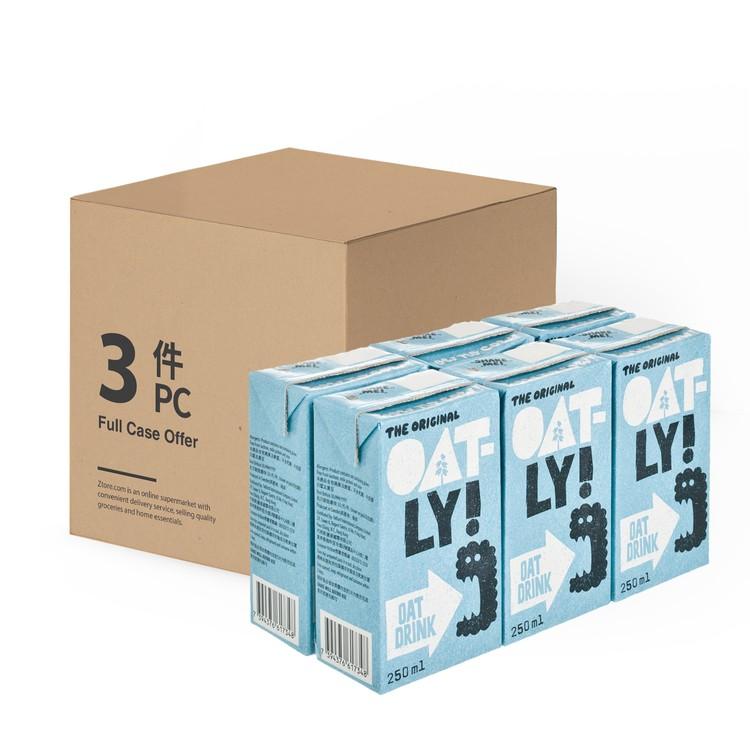 OATLY - OAT DRINK-ENRICHED-CASE OFFER - 250MLX6X3