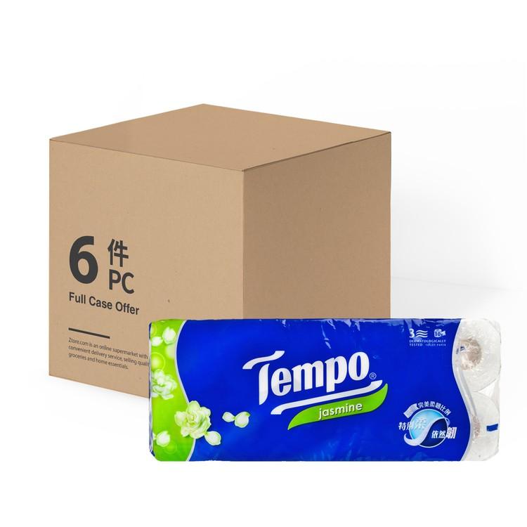 TEMPO - BATHROOM TISSUE 3 PLY-JASMINE(FULL CASE) - 10'SX6