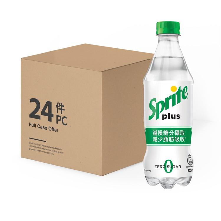 雪碧 - 加系雪碧-檸檬青檸味汽水-原箱 - 500MLX24