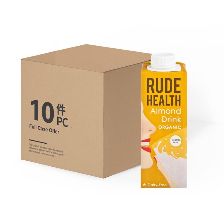 RUDE HEALTH (平行進口) - 有機迷你杏仁素奶-原箱 - 250MLX10