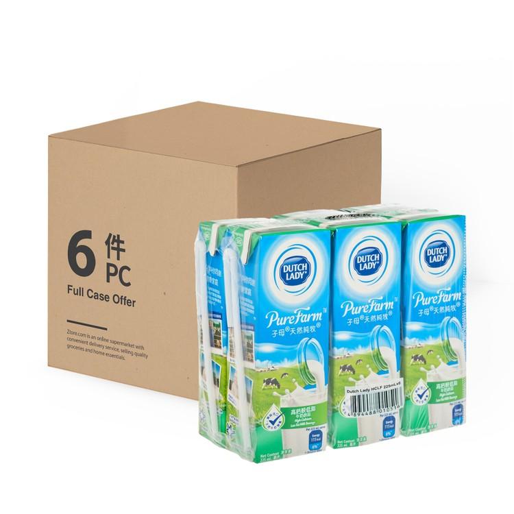 子母 - 天然純牧高鈣較低脂牛奶飲品-原箱 - 225MLX6X6