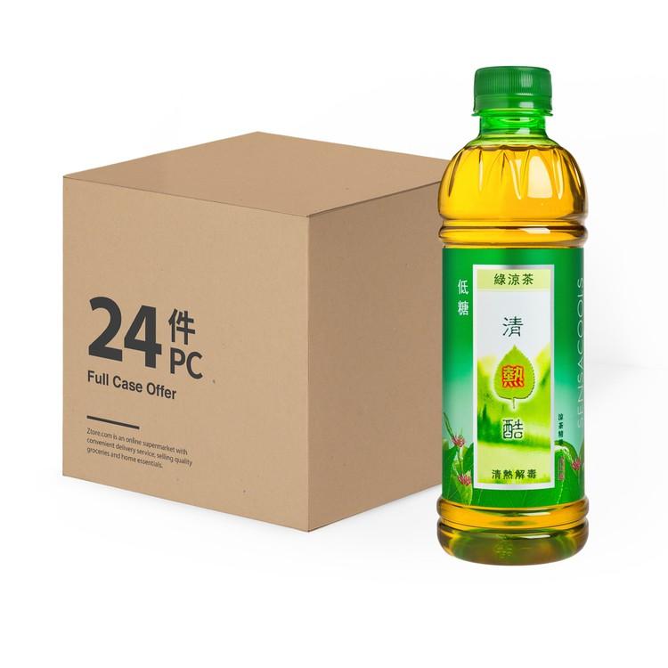 SENSA COOLS - HERBAL GREEN TEA-CASE OFFER - 350MLX24