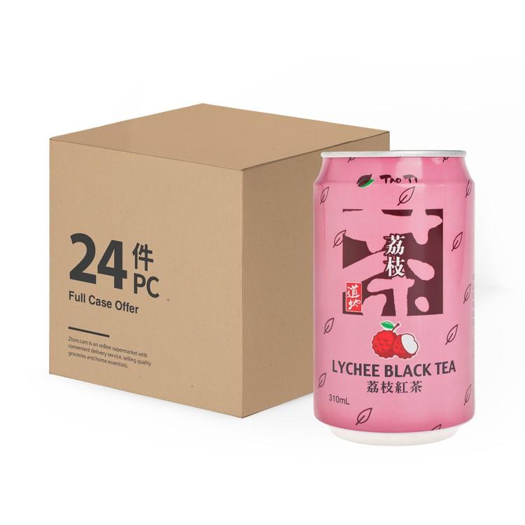 道地 - 台式茶飲-荔枝紅茶-原箱 - 310MLX24