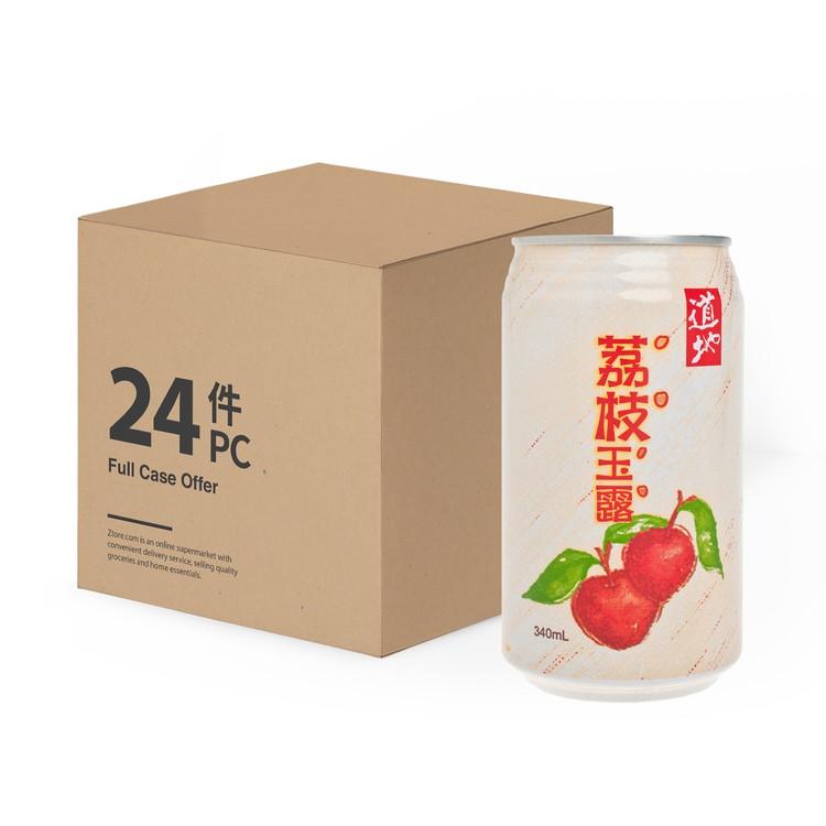 道地 - 荔枝玉露-原箱 - 340MLX24