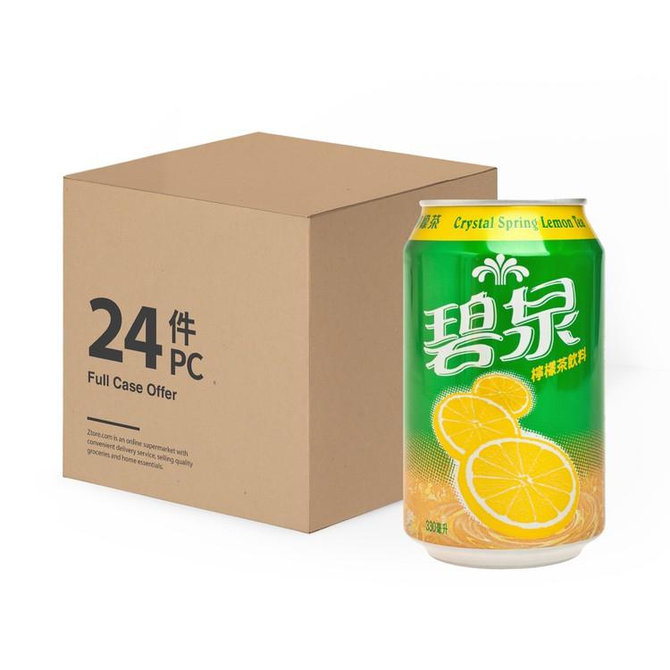 CRYSTAL SPRING - LEMON TEA DRINK - 330MLX24