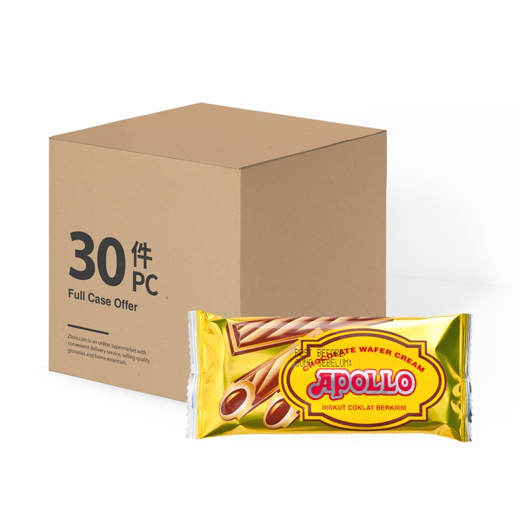 APOLLO - BISCUIT ROLL-CHOCOLATE-CASE OFFER - 11GX30