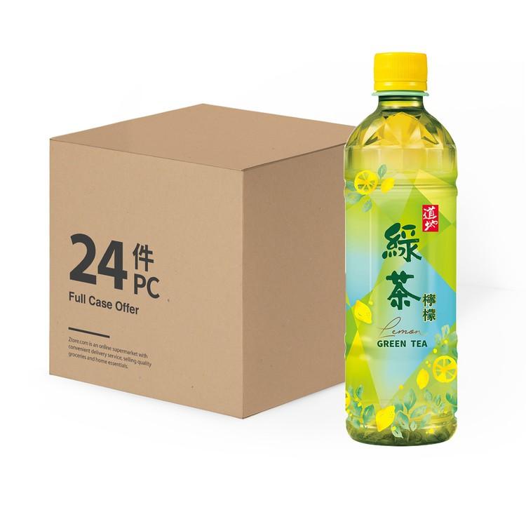 道地 - 檸檬綠茶 -原箱 - 500MLX24