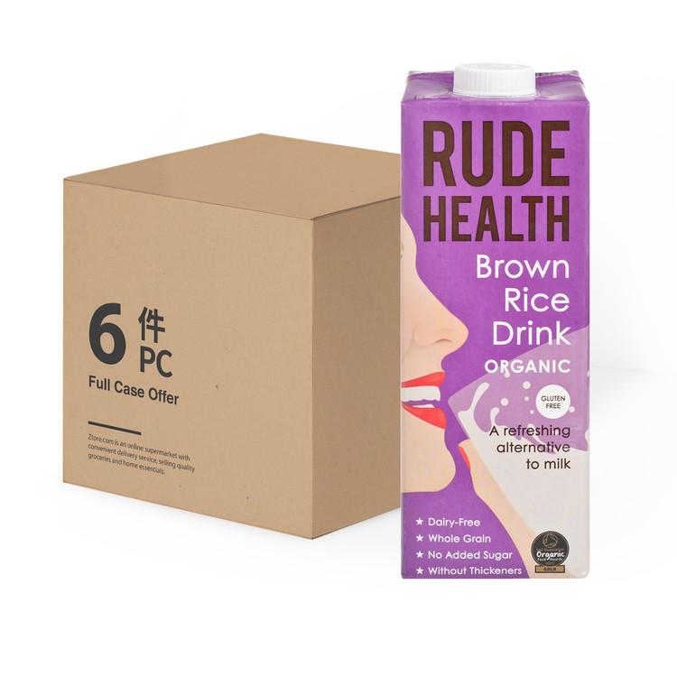 RUDE HEALTH (平行進口) - 有機糙米素奶-原箱(到期日:2021年5月14日) - 1LX6