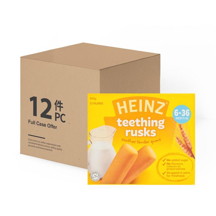 HEINZ - BI TEETHING RUSK - CASE - 100GX12