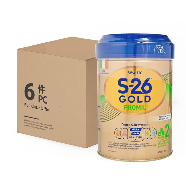 惠氏 - S-26® GOLD 2號 - 原箱 - 900GX6