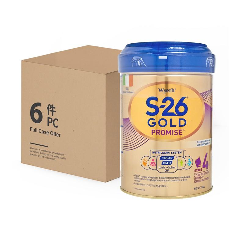 惠氏 - S-26® GOLD 4號 - 原箱 - 900GX6