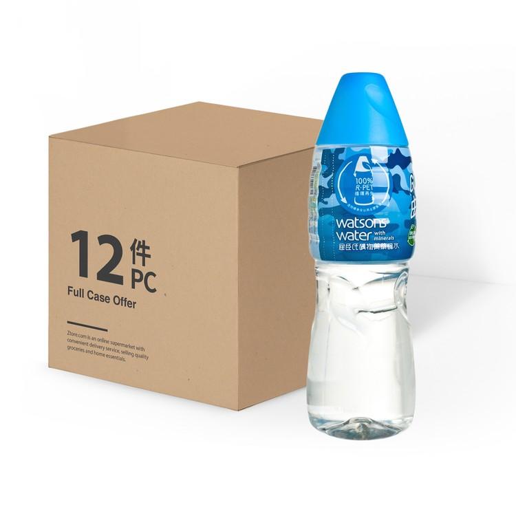 屈臣氏 - 礦物質蒸餾水-原箱 - 1.25LX12