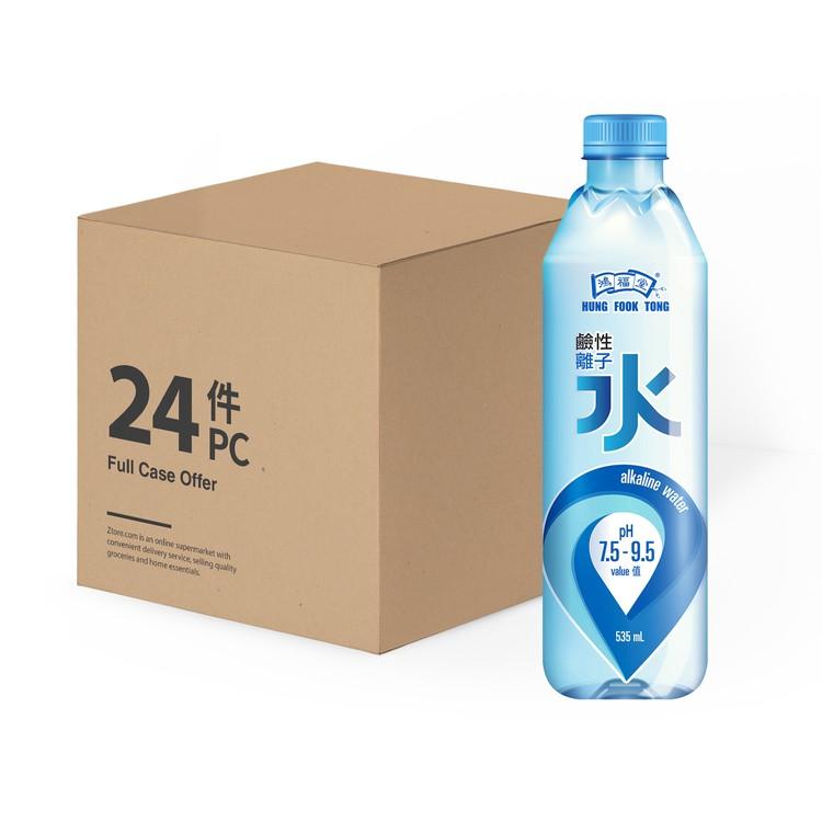 鴻福堂 - 鹼性離子水-原箱 - 535MLX24