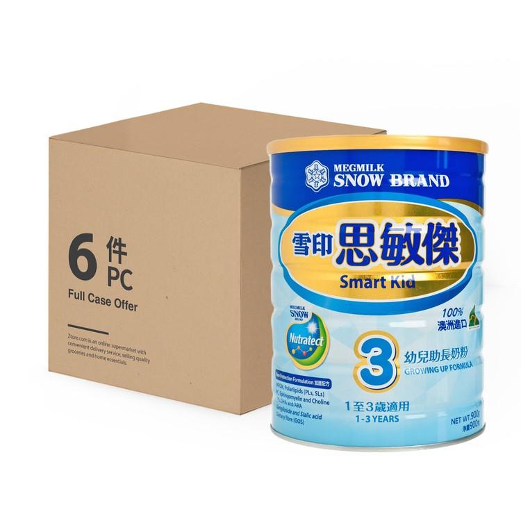 雪印 - 思敏傑3號助長奶粉 - 原箱 - 900GX6