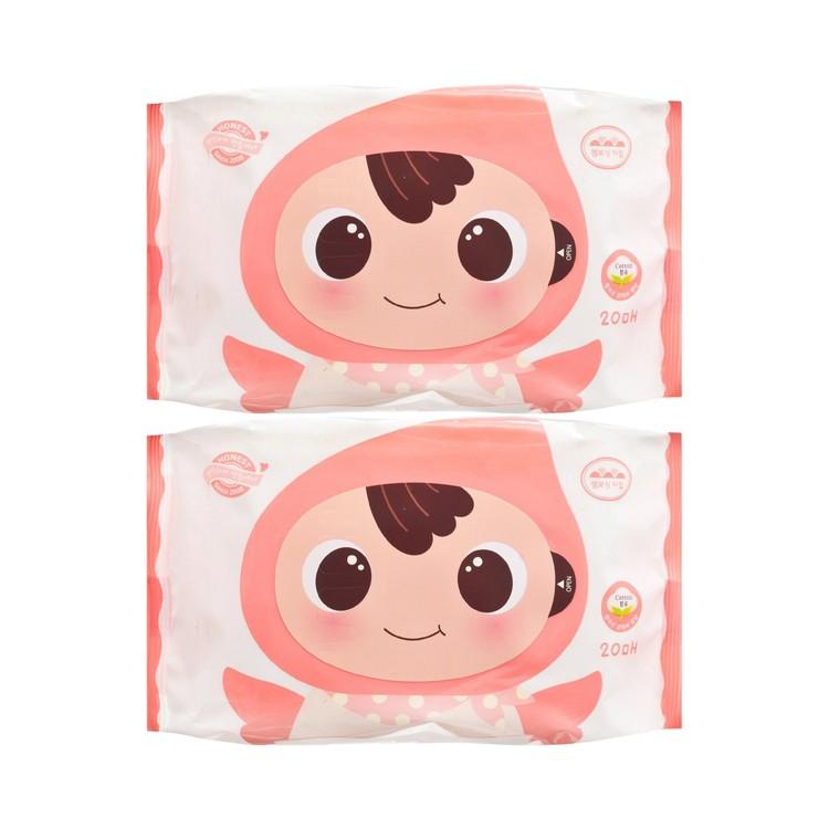 順順兒 - 無香嬰兒濕紙巾 - 20'SX2