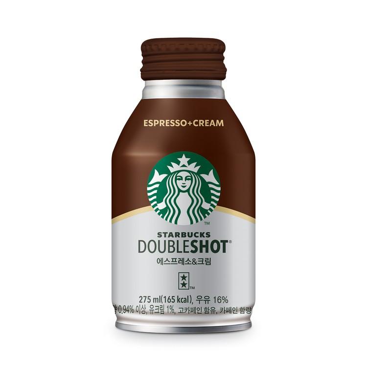 STARBUCKS - DOUBLE SHOT ESPRESSO & CREAM - 275MLX4