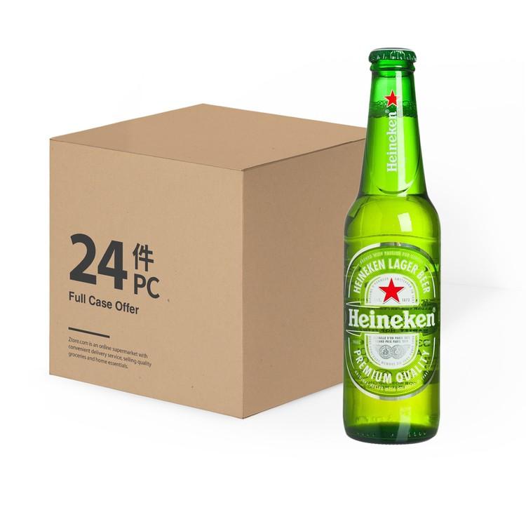 喜力(平行進口) - 啤酒(原箱)  - 330ML X24
