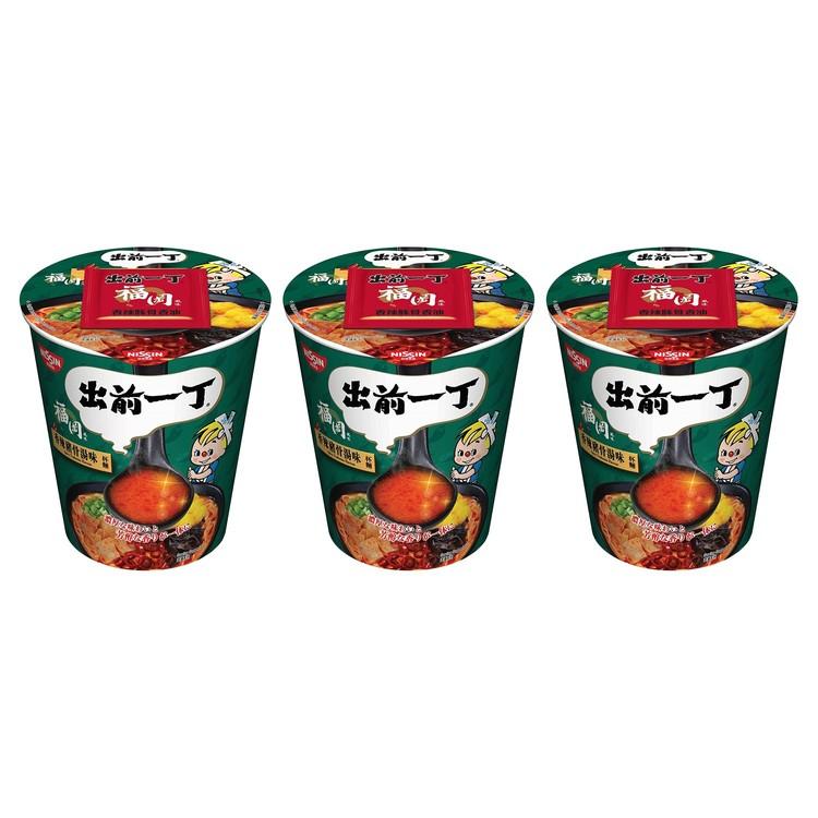 出前一丁 - 杯麵-香辣豬骨湯味 - 75GX3