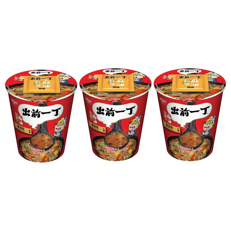 出前一丁 - 杯麵-麻油味 - 72GX3