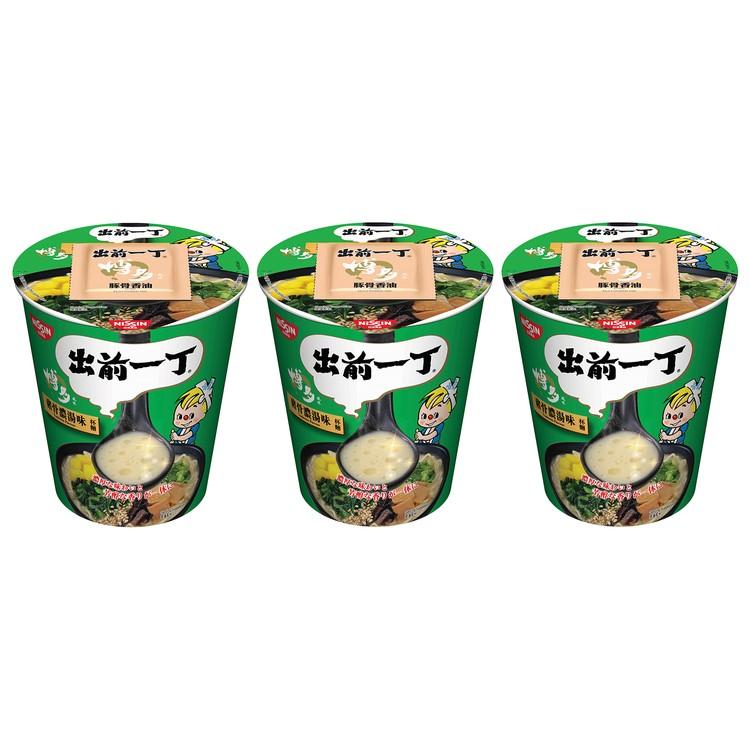 出前一丁 - 杯麵-豬骨濃湯味 - 77GX3