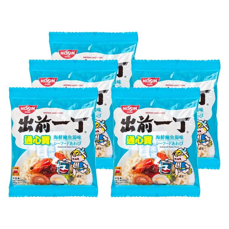 出前一丁 - 通心寶-海鮮鮑魚湯 - 90GX5