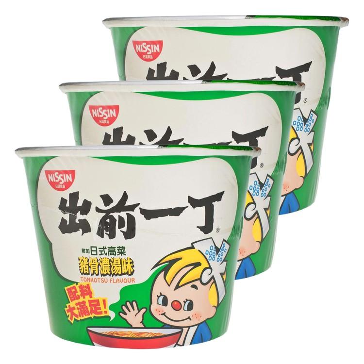 出前一丁 - 碗麵-日式豬骨濃湯味 - 120GX3