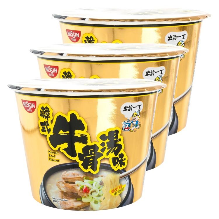 出前一丁 - 碗麵-韓式牛骨湯味 - 102GX3