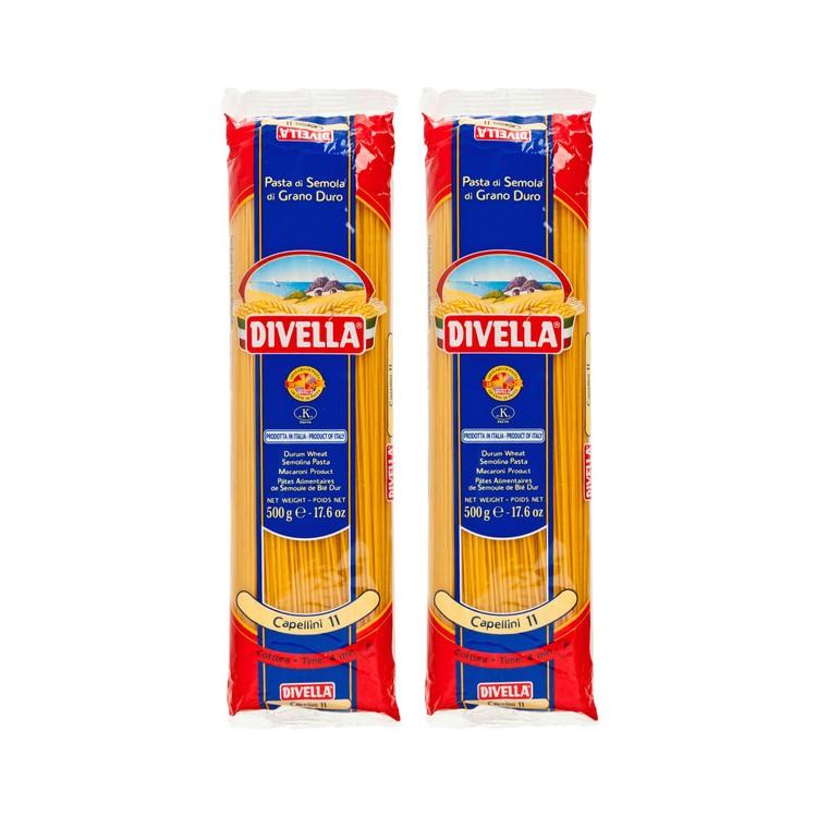 DIVELLA - CAPELLINI #11-TWINS SET - 500GX2