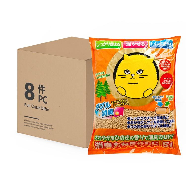 SUPER CAT - 除臭環保豆腐貓砂(可沖廁) - 原箱 - 5LX8