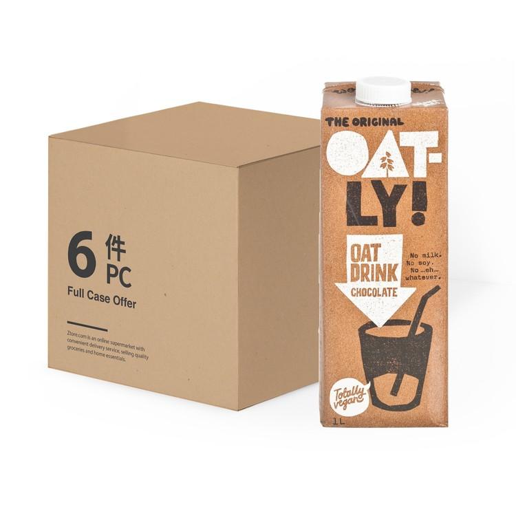OATLY - OAT DRINK-CHOCOLATE-FULL CASE - 1LX6