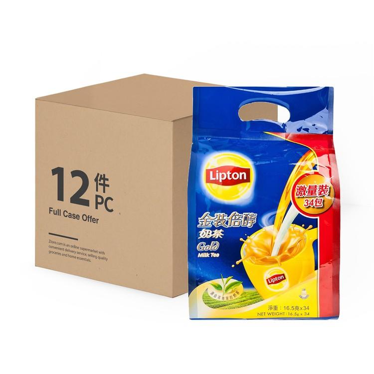 LIPTON - MILK TEA GOLD-CASE OFFER - 16.5GX34X12