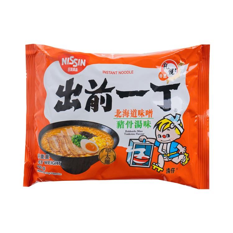 出前一丁 - 即食麵-北海道味噌豬骨湯味 - 100GX5
