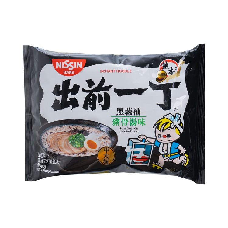 出前一丁 - 即食麵-黑蒜豬骨湯味 - 100GX5