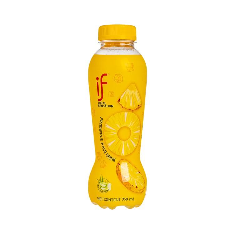 iF - PINEAPPLE JUICE DRINK WITH ALOE VERA - 350MLX4