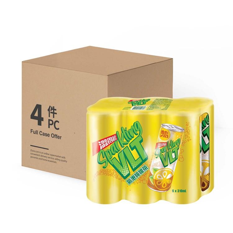VITA - SPARKLING LEMON TEA(CANS) - CASE OFFER - 310MLX6X4