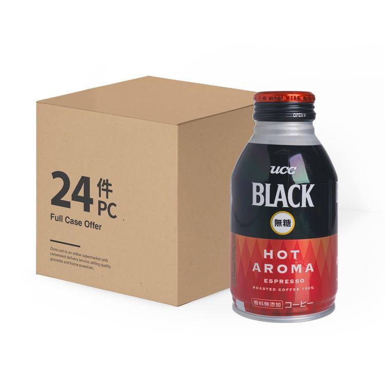 UCC - HOT AROMA SUGAR FREE BLACK COFFEE - CASE OFFER - 275MLX24