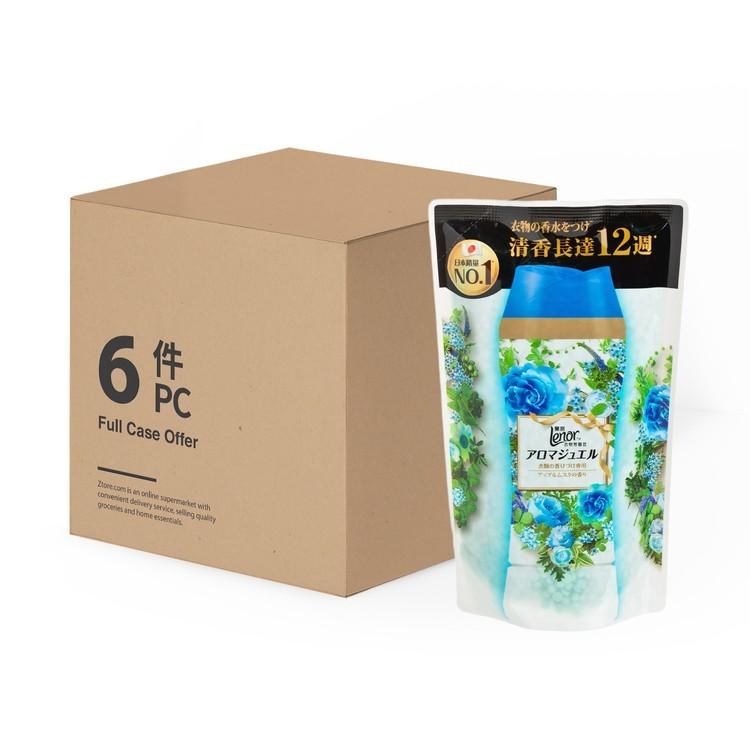 LENOR - 衣物芳香豆-青蘋甜麝香(補充包) - 455MLX6